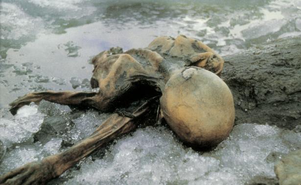 Gletschermumie Ötzi (Foto: Paul Hanny)