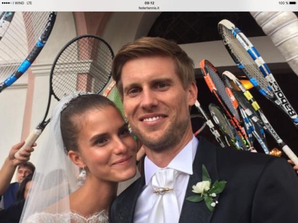 Andreas Seppi und seine Ehefrau Michela