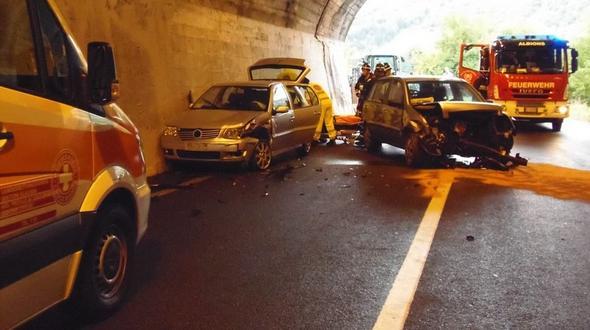 Der Unfall (Foto: FF Albions)