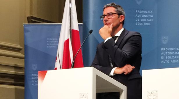 Landeshauptmann Arno Kompatscher