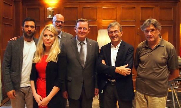 Die Grünen mit Bodo Ramelow