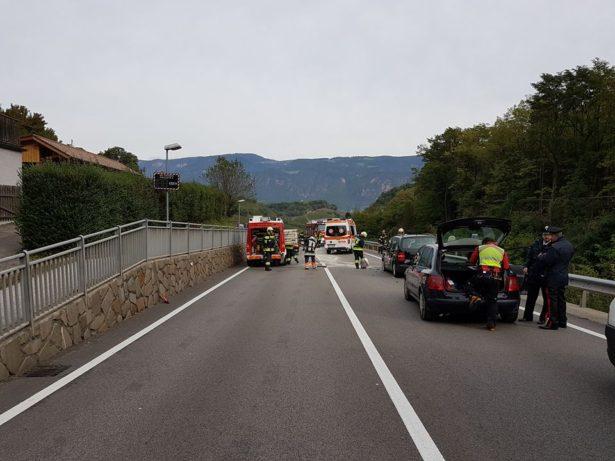 Der Unfall in Eppan (Foto: FF St. Michael)