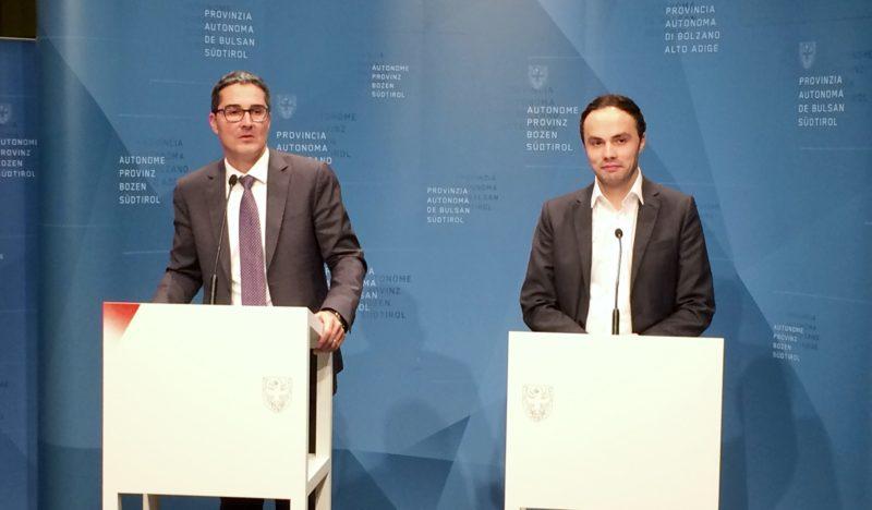 Arno Kompatscher und Philipp Achammer