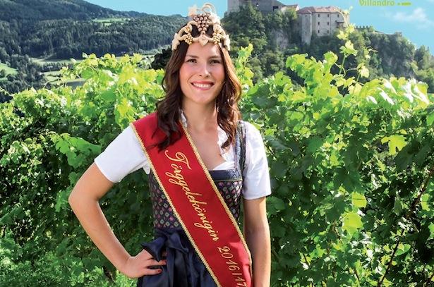 Törggelekönigin Manuela Dorfmann