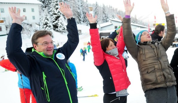 Wintersport-Fan Günther Platter (Foto: meinbezirk.at)