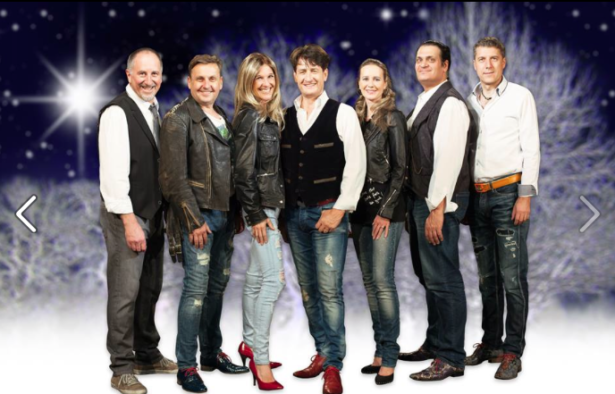 Andreas Fulterer mit seiner Band