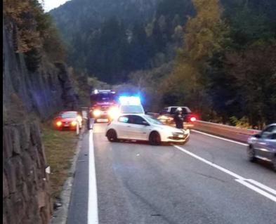 Der Unfall am Mittwochnachmittag (Foto: FF Gummer)