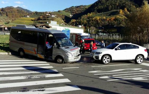 Der Unfall (Fotos: FF Klausen)