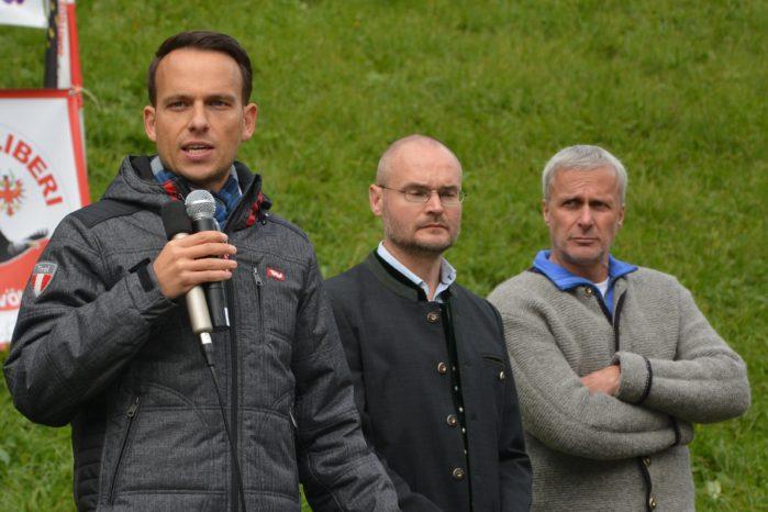 Brenner Demo Sven Knoll