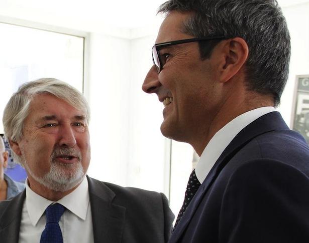 Minister Poletti und LH Kompatscher