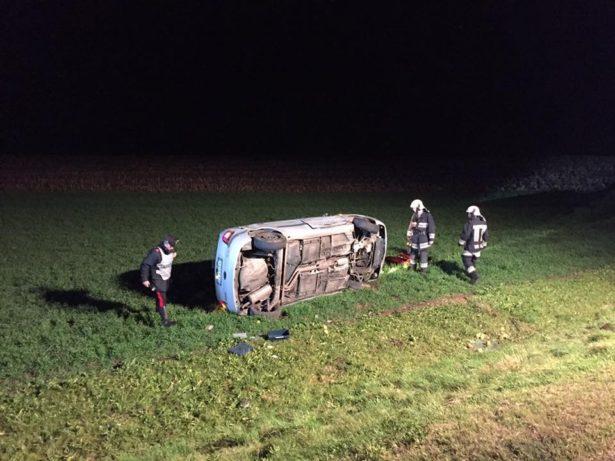 Der Unfallwagen (Fotos: FF St. Lorenzen)
