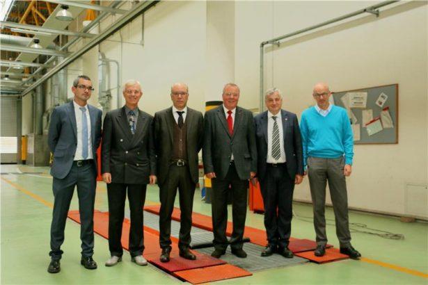 Markus Kolhaupt, Roberto Rubbo, Valentino Pagani, Claudio Gelmi, Florian Mussner und Günther Burger. (Foto: Roman Clara)