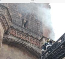 Der Dom brennt
