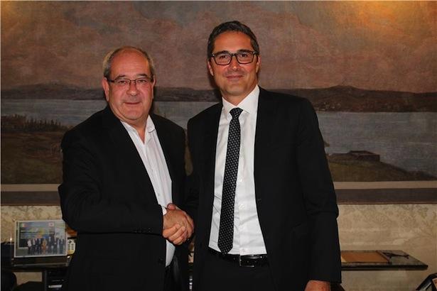 LH Kompatscher mit Staatssekretär Giacomelli