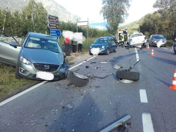 Der Unfallort (Foto: FF Rabland)