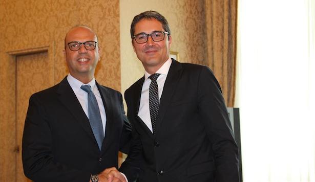 Minister Alfano und LH Kompatscher