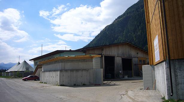 Die Biogasanlage in Kematen