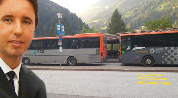 Doppelte Busse im Herbst in Passeier