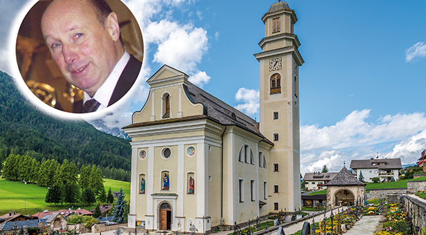 St.Peter and Paul(St.Vitus) church with cemetery in Sesto