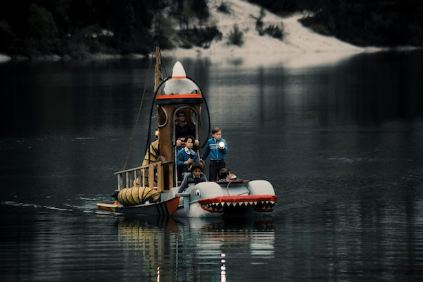 Die Bande von Burg Schreckenstein auf dem Pragser Wildsee