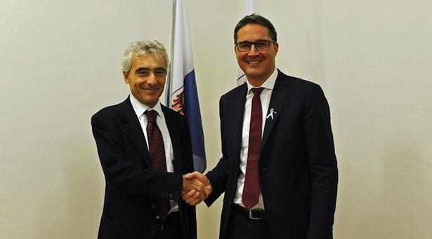 Tito Boeri und LH Arno Kompatscher