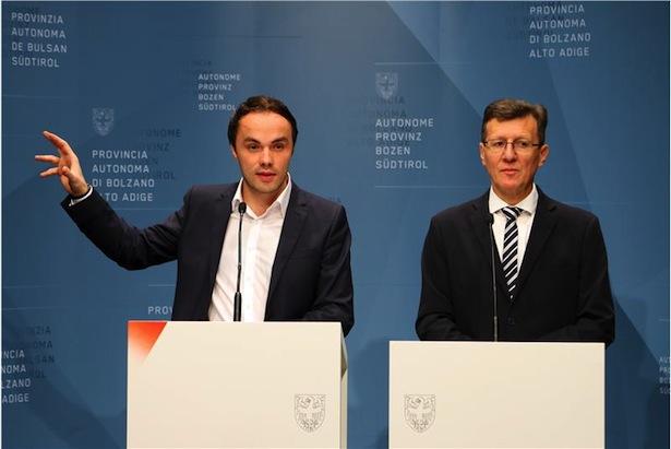 LR Achammer und Schulamtsleiter Höllrigl