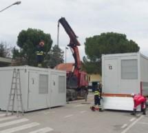 Container für Bebenopfer