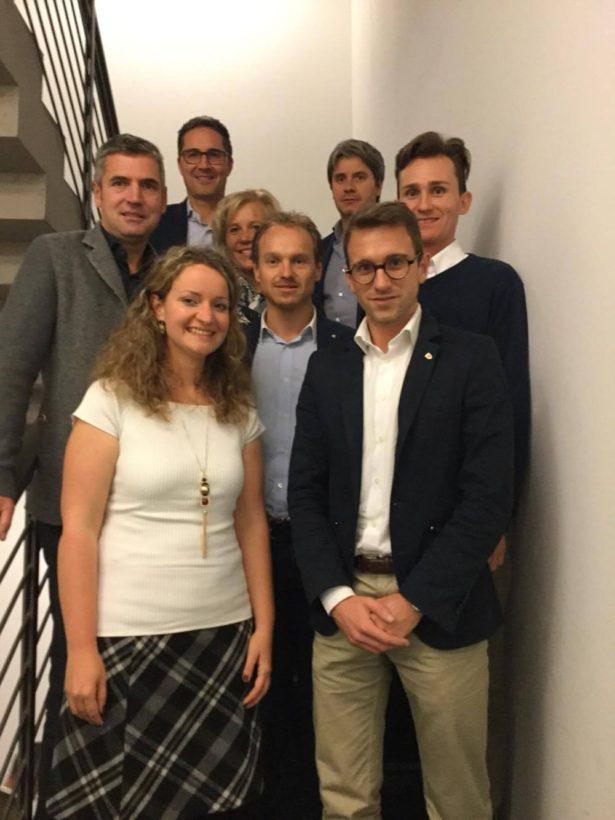 Herbert Dorfmann, Sonja Plank, Arno Kompatscher, Angelika Wiedmer, Julian Stuffer, Gerhard Duregger, Stefan Premstaller, Manuel Raffin