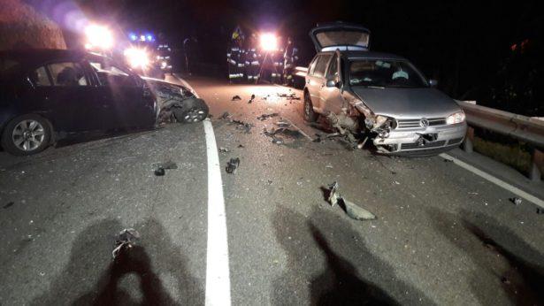 Der Unfall bei der Töll (Fotos: FF Algund)