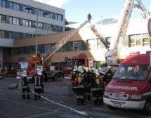 Feuer im Spital
