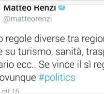 Was soll das, Herr Renzi?