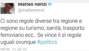 Der Renzi-Tweet