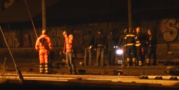 Die Rettungskräfte am Unglücksort (Fotos: il Giorno dell'Alto Adige)