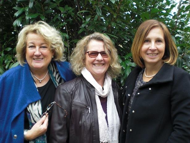 Edith Schwab, Ida Lanbacher, Gabriele Fischer