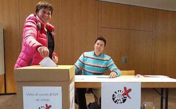 Ortsausschusswahl in St. Ulrich