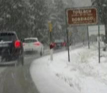 Schnee bis auf 1.000 Meter