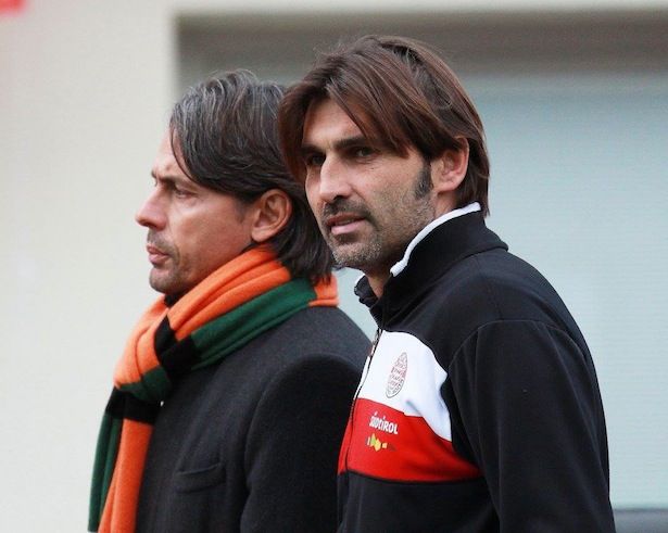 William Viali und Pippo Inzaghi