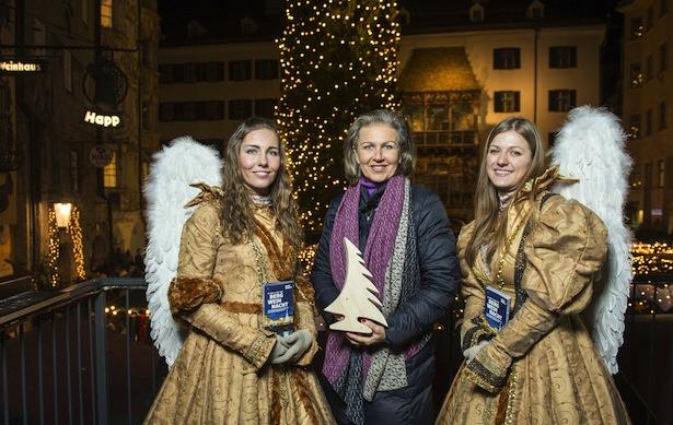 LRin Zoller-Frischauf bei der Eröffnung des Innsbrucker Christkindlmarktes