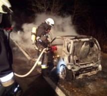 Autobrand im Vinschgau