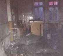 Brand in der Kaserne