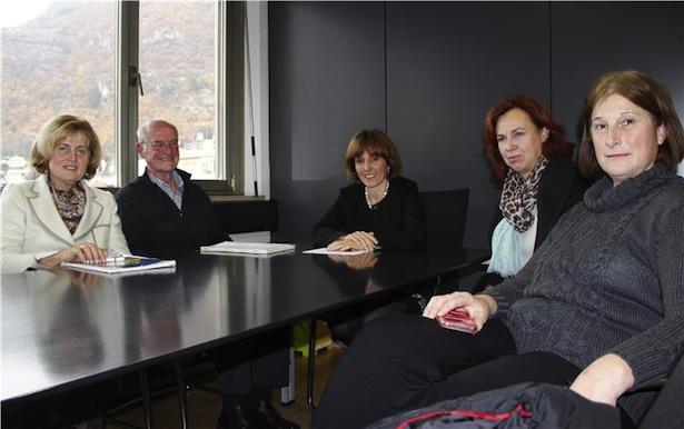 Landesrätin Deeg im Gespräch mit Vertretern der Arge für Behinderte