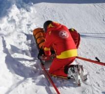 Skifahrer prallt gegen Zaun