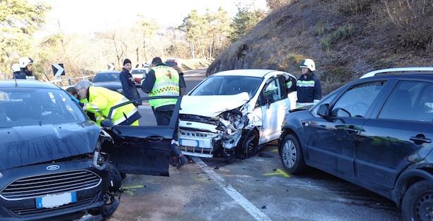 Crash in Montan (Fotos: FF Montan)