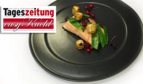 "Lachsfilet mit ""La Ratte""-Kartoffeln"