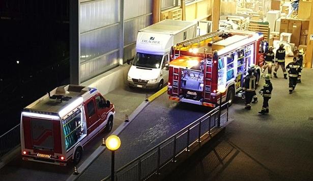 Der Einsatz der Feuerwehr (Foto: FF Waidbruck)