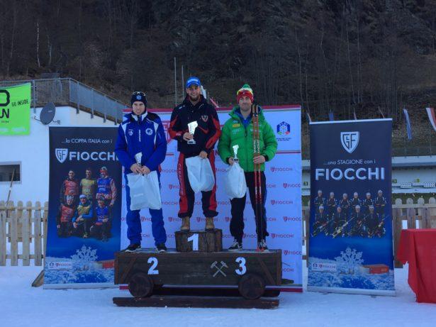 Sieger der Kategorie U19: 1. Braunhofer Patrick - C.S. Carabinieri, 2. Tumler Peter - ASV Martell, 3. Christille Cedric G.S. Fiammegialle