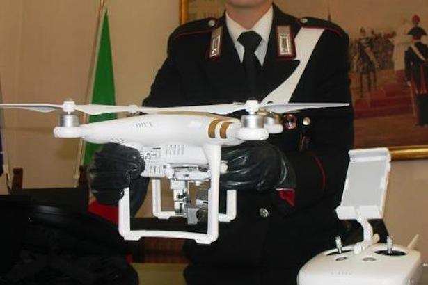 il-drone-controlalto-dai-carabinieri-di-bressanone