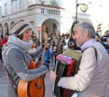 Straßenmusiker Rösch