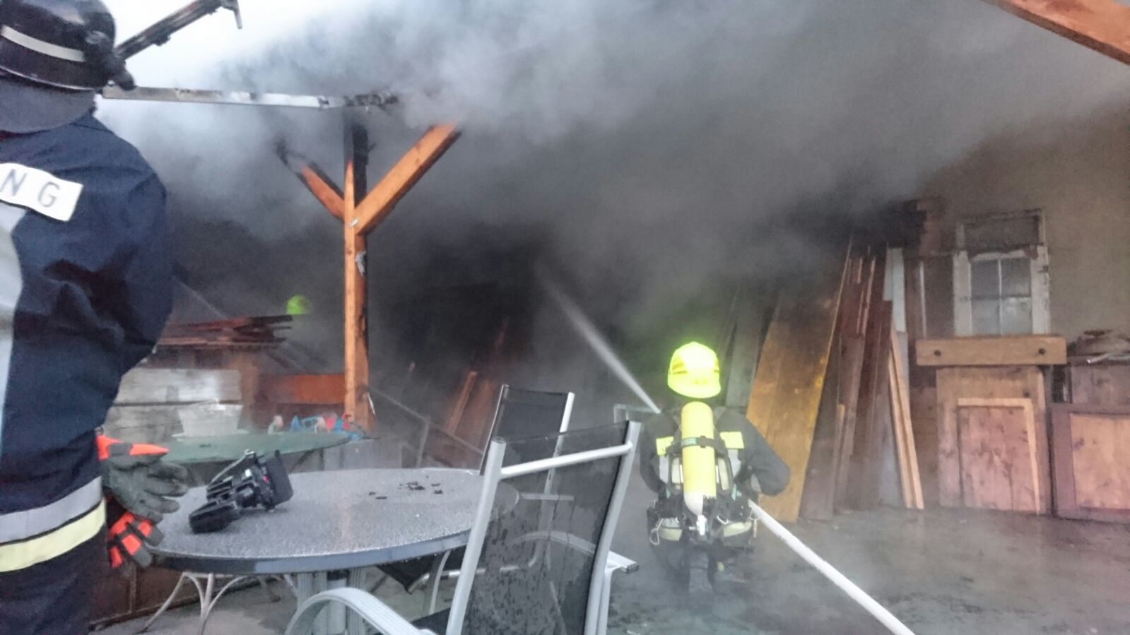 Der Brand in Untermais (FF: Untermais)