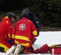 Skiunfall in Welschnofen